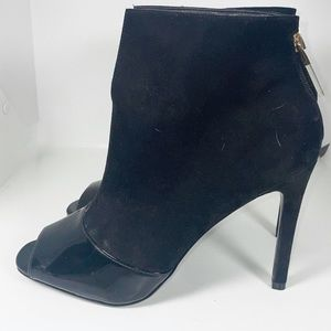 Guess ankle peep toe boots